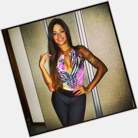 Aline Riscado dark brown hair & hairstyles Athletic body,