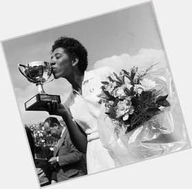 Althea Gibson black hair & hairstyles Athletic body,