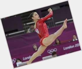 Aly Raisman dark brown hair & hairstyles Athletic body,