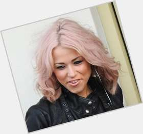 Amelia Lily multi-colored hair & hairstyles Athletic body,