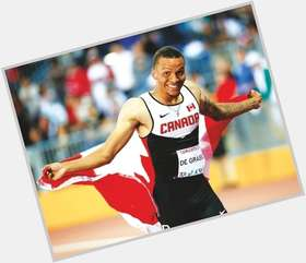 "<a href=""/hot-men/andre-de-grasse/is-he-injured-married-why-not-commonwealth-games"">Andre De Grasse</a> Athletic body,  dark brown hair & hairstyles"