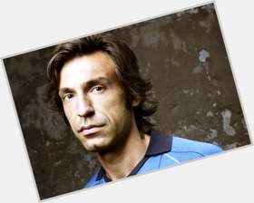 Andrea Pirlo light brown hair & hairstyles Athletic body,