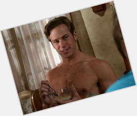 Armie Hammer dark brown hair & hairstyles Athletic body,