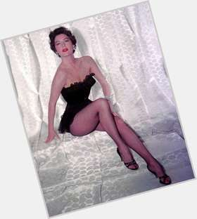 Ava Gardner dark brown hair & hairstyles Voluptuous body,