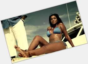 Bernice Burgos black hair & hairstyles Voluptuous body,