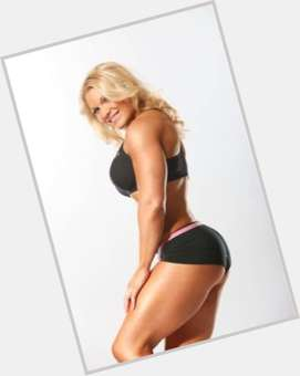 Beth Phoenix blonde hair & hairstyles Athletic body,