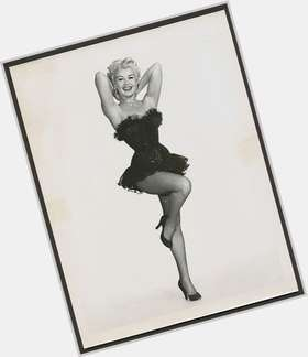 Betty Grable blonde hair & hairstyles Voluptuous body,