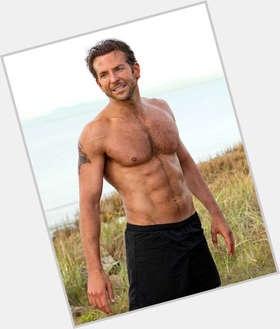 Bradley Cooper light brown hair & hairstyles Athletic body,