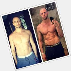 Brian Friedman dyed blonde hair & hairstyles Athletic body,
