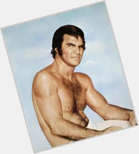 Burt Reynolds dark brown hair & hairstyles Athletic body,