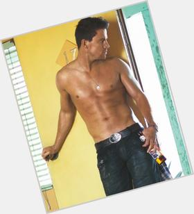 Channing Tatum light brown hair & hairstyles Bodybuilder body,