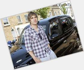 Charlie Simpson dyed blonde hair & hairstyles Athletic body,