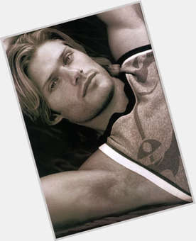 Chris Carmack blonde hair & hairstyles Athletic body,