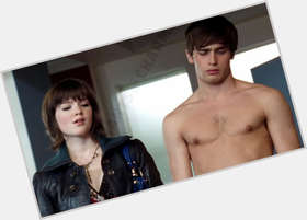 Christian Cooke dark brown hair & hairstyles Athletic body,