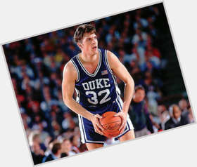 Christian Laettner light brown hair & hairstyles Athletic body,