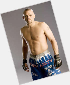 Chuck Liddell blonde hair & hairstyles Bodybuilder body,