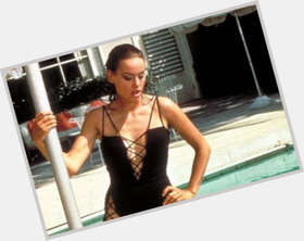 Claudine Auger dark brown hair & hairstyles Voluptuous body,
