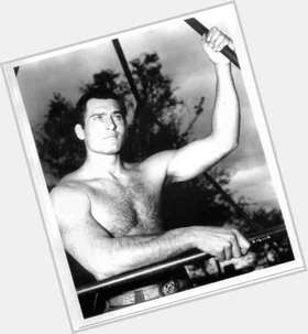 Clint Walker dark brown hair & hairstyles Bodybuilder body,