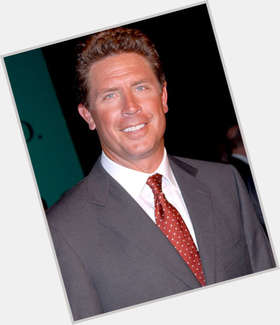 Dan Marino light brown hair & hairstyles Bodybuilder body,