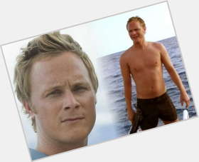 David Anders light brown hair & hairstyles Athletic body,