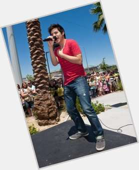 David Archuleta black hair & hairstyles Athletic body,