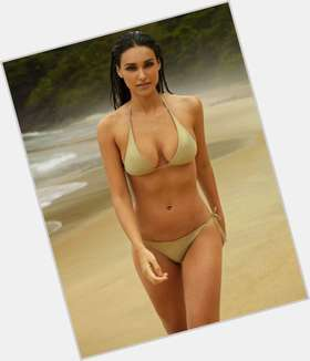 Debora Nascimento dark brown hair & hairstyles Voluptuous body,