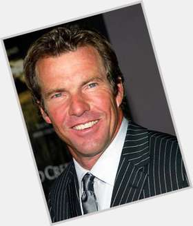 Dennis Quaid light brown hair & hairstyles Athletic body,