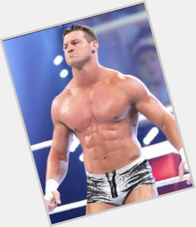Dolph Ziggler dyed blonde hair & hairstyles Athletic body,