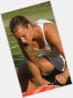 Dominika Cibulkova blonde hair & hairstyles Athletic body,