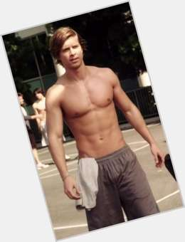 Drew Van Acker light brown hair & hairstyles Athletic body,