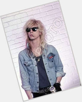 Duff Mckagan blonde hair & hairstyles Athletic body,