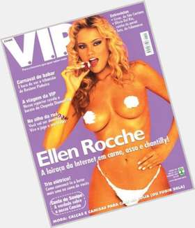 Ellen Rocche dyed blonde hair & hairstyles Voluptuous body,