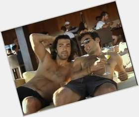 Engin Akyurek dark brown hair & hairstyles Athletic body,