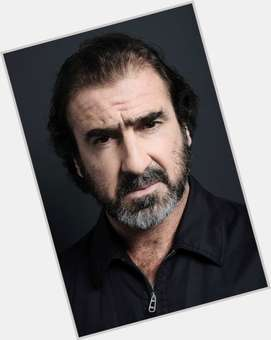 Eric Cantona dark brown hair & hairstyles Athletic body,