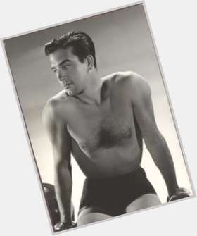 Errol Flynn light brown hair & hairstyles Athletic body,