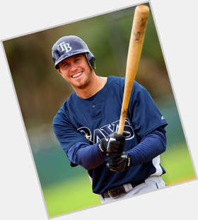Evan Longoria dark brown hair & hairstyles Athletic body,