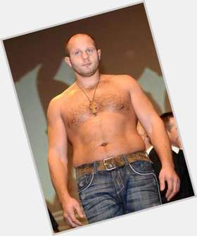 Fedor Emelianenko blonde hair & hairstyles Athletic body,