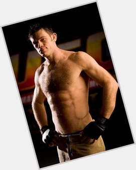 Forrest Griffin light brown hair & hairstyles Bodybuilder body,