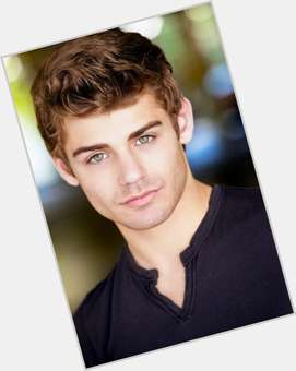 Garrett Clayton light brown hair & hairstyles Athletic body,