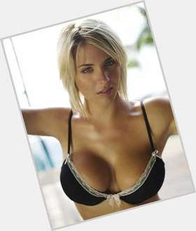 Gemma Atkinson blonde hair & hairstyles Athletic body,