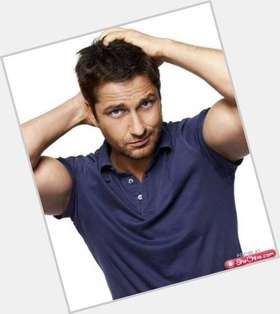 Gerard Butler light brown hair & hairstyles Athletic body,
