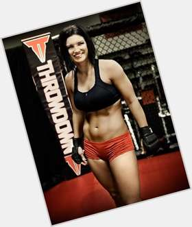 "<a href=""/hot-women/gina-carano/is-she-married-retired-still-fighting-single-almost"">Gina Carano</a> Athletic body,  dark brown hair & hairstyles"