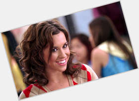 Gretchen Wieners dark brown hair & hairstyles Voluptuous body,