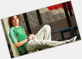 Guillermo Ochoa light brown hair & hairstyles Athletic body,