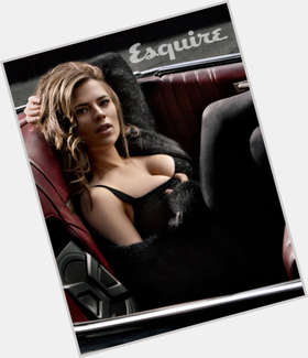 "<a href=""/hot-women/hayley-atwell/is-she-single-captain-america-2-married-dating"">Hayley Atwell</a> Voluptuous body,  dark brown hair & hairstyles"
