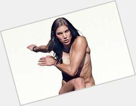 Hope Solo light brown hair & hairstyles Athletic body,