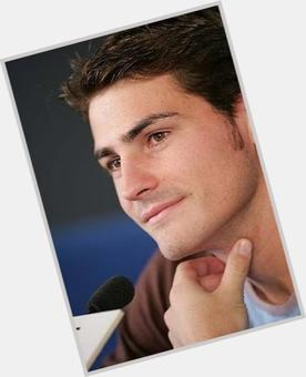Iker Casillas dark brown hair & hairstyles Athletic body,