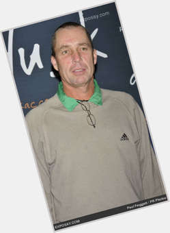 Ivan Lendl light brown hair & hairstyles Athletic body,