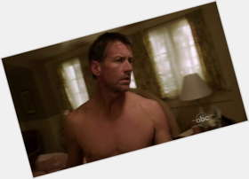 James Denton dark brown hair & hairstyles Athletic body,