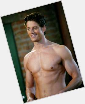 James Scott dark brown hair & hairstyles Athletic body,